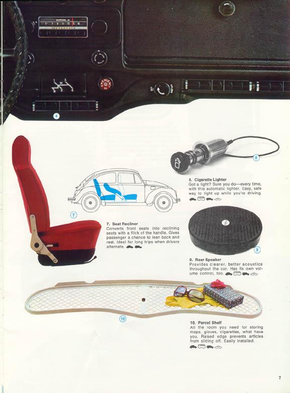 vw beetle accessories catalog autos post. Black Bedroom Furniture Sets. Home Design Ideas